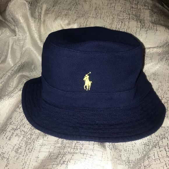 35eeb328d93 Men Polo Navy bucket hat size L XL NBW